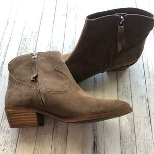 Sam Edelman Brown Suede Boots | 6.5